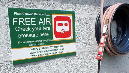 Touring Caravan Maintenance Services Cornwall