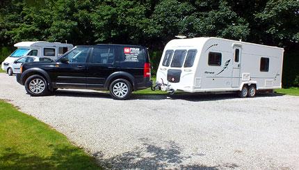 Caravan Towing Delivery Service Cornwall