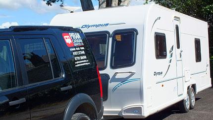 Touring Caravan Services Cornwall