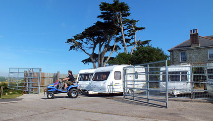 Piran Caravan Secure Storage Cornwall