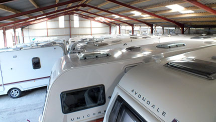 Undercover Caravan Storage Cornwall