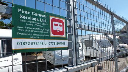 Secure Caravan Storage Cornwall